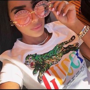 Ladies sexy Gucci T-shirt